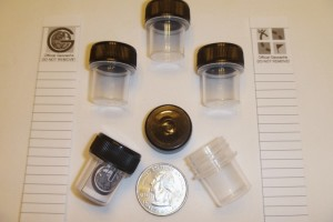 Clear Micro Cache Containers