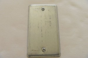Electrical Plate Cache Container