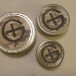 Round Tin Geocaching Containers
