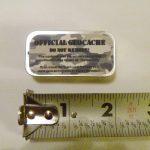 Micro Geocache Container