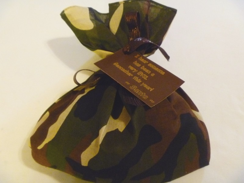Cache Container Gift Bag