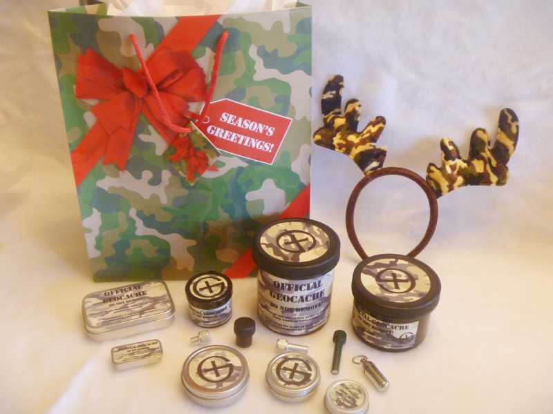 Geocache Containers Gift Pack