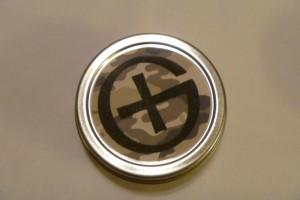 Round Geocache Tin Container