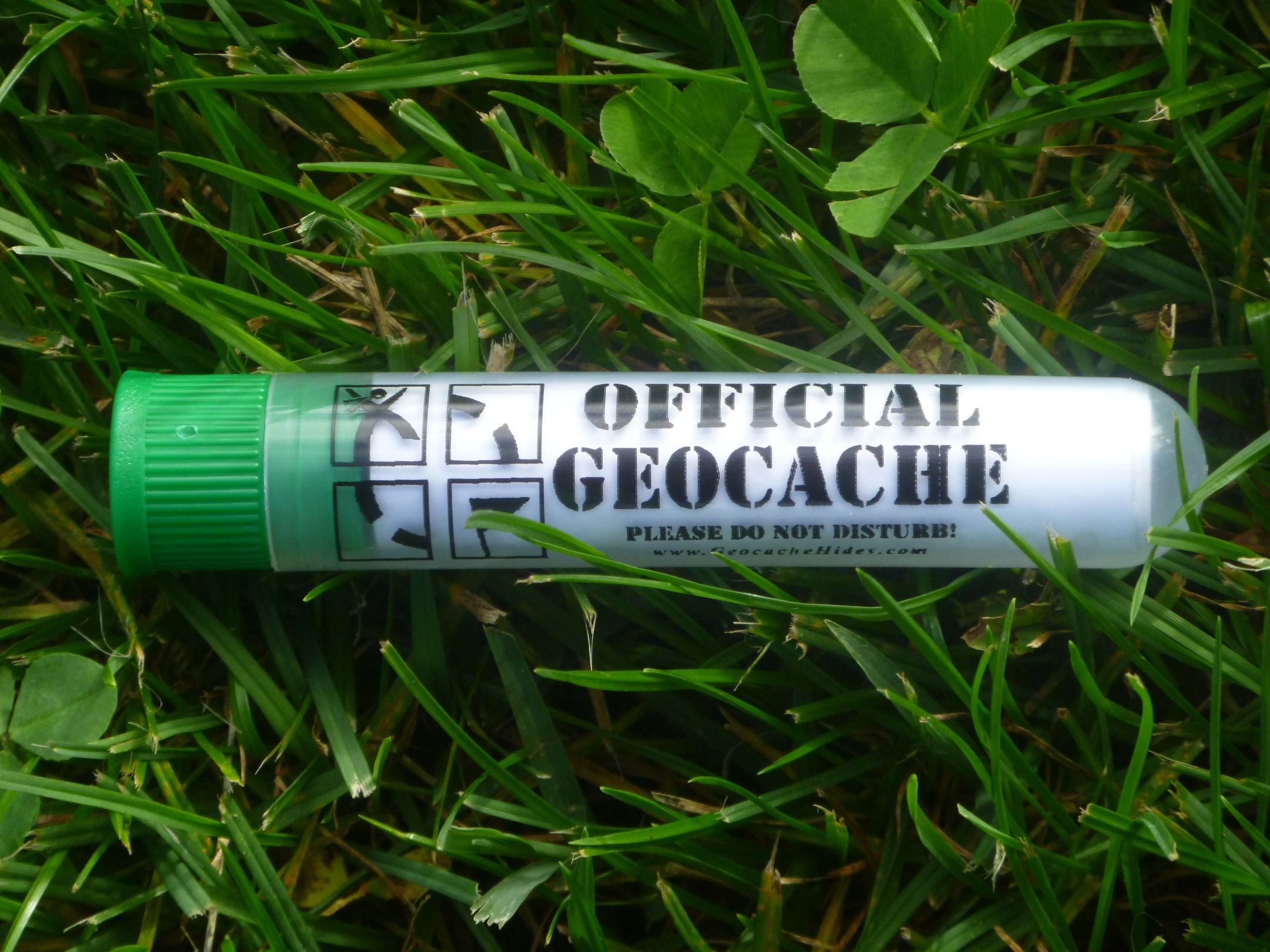 Official Geocache Tube Container