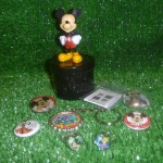 mickey geocache with swag