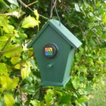 Chalet Bird House Geocache Container