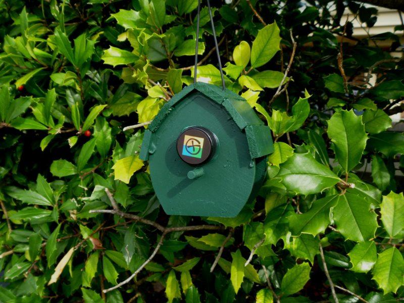 Hut Bird House Geocache Container