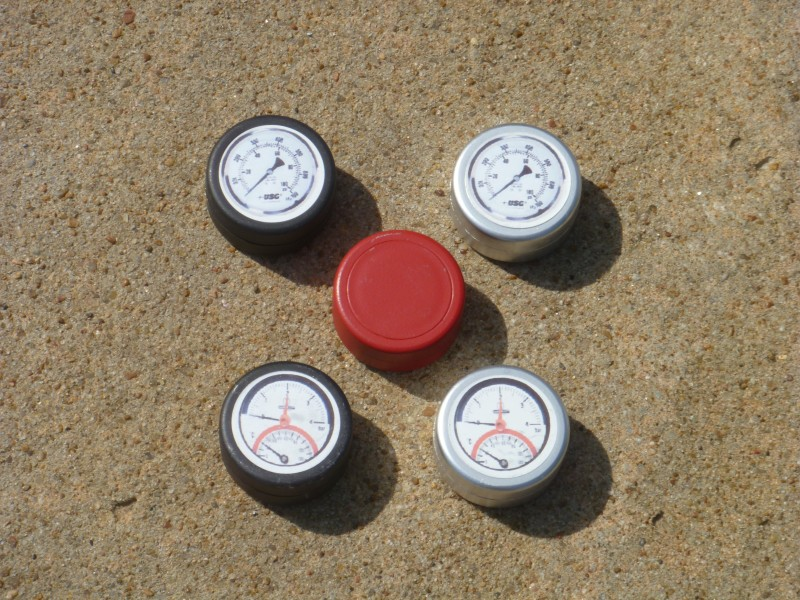 Gauge Geocache Containers