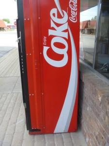 Coke Machine Geocache Container