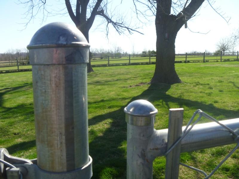 Fence Cap Geocache Container