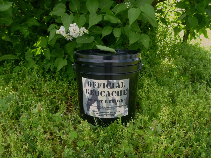 Large Bucket Geocache Container
