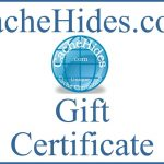 Cache Hides Gift Certificate