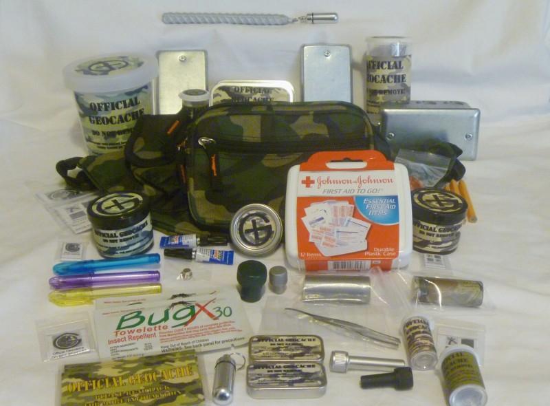 Geocaching Supplies Kit