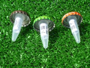 Bottle Cap Geocache Containers