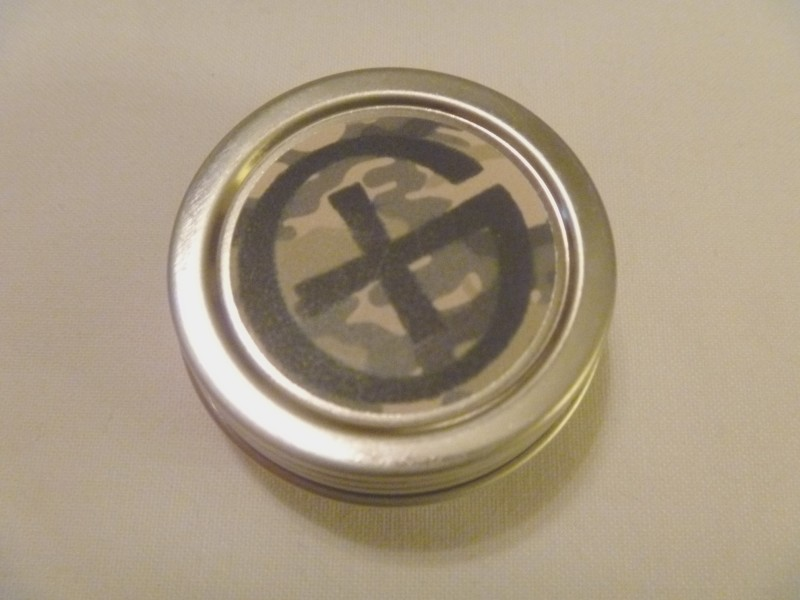 Round Geocache Tin Container