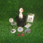 Frozen Olaf Complete Geocache Container